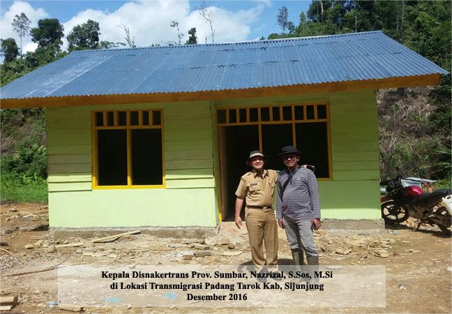 Lokasi Transmigrasi Padang Tarok