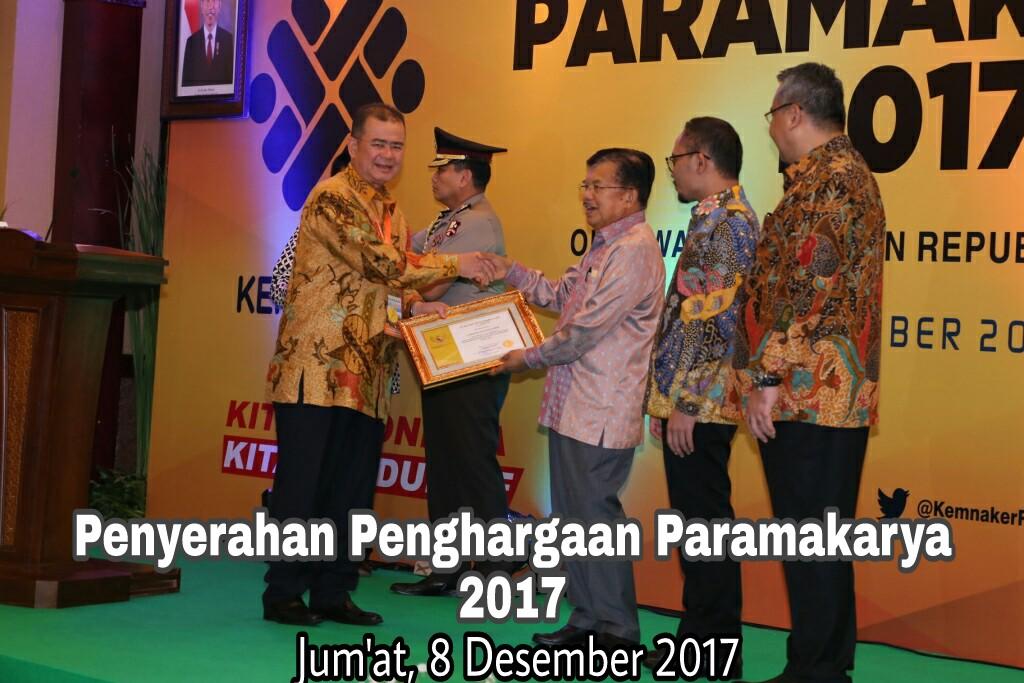 Penyerahan Penghargaan Paramakarya 2017