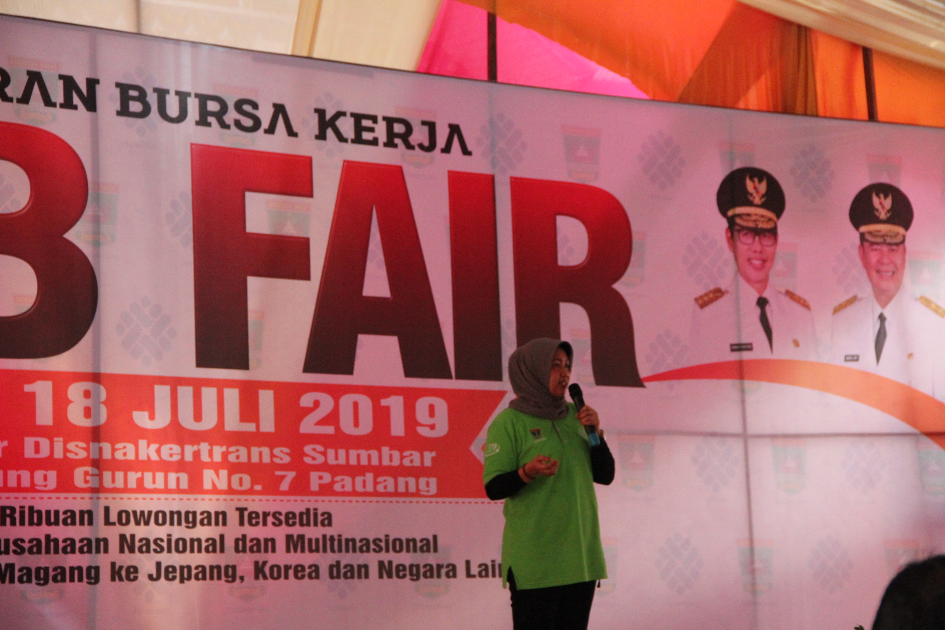Penutupan JOB FAIR 18 07 2019