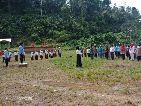 Hari Ulang Tahun RI ke 74 Lokasi Trans Padang Tarok SP 1