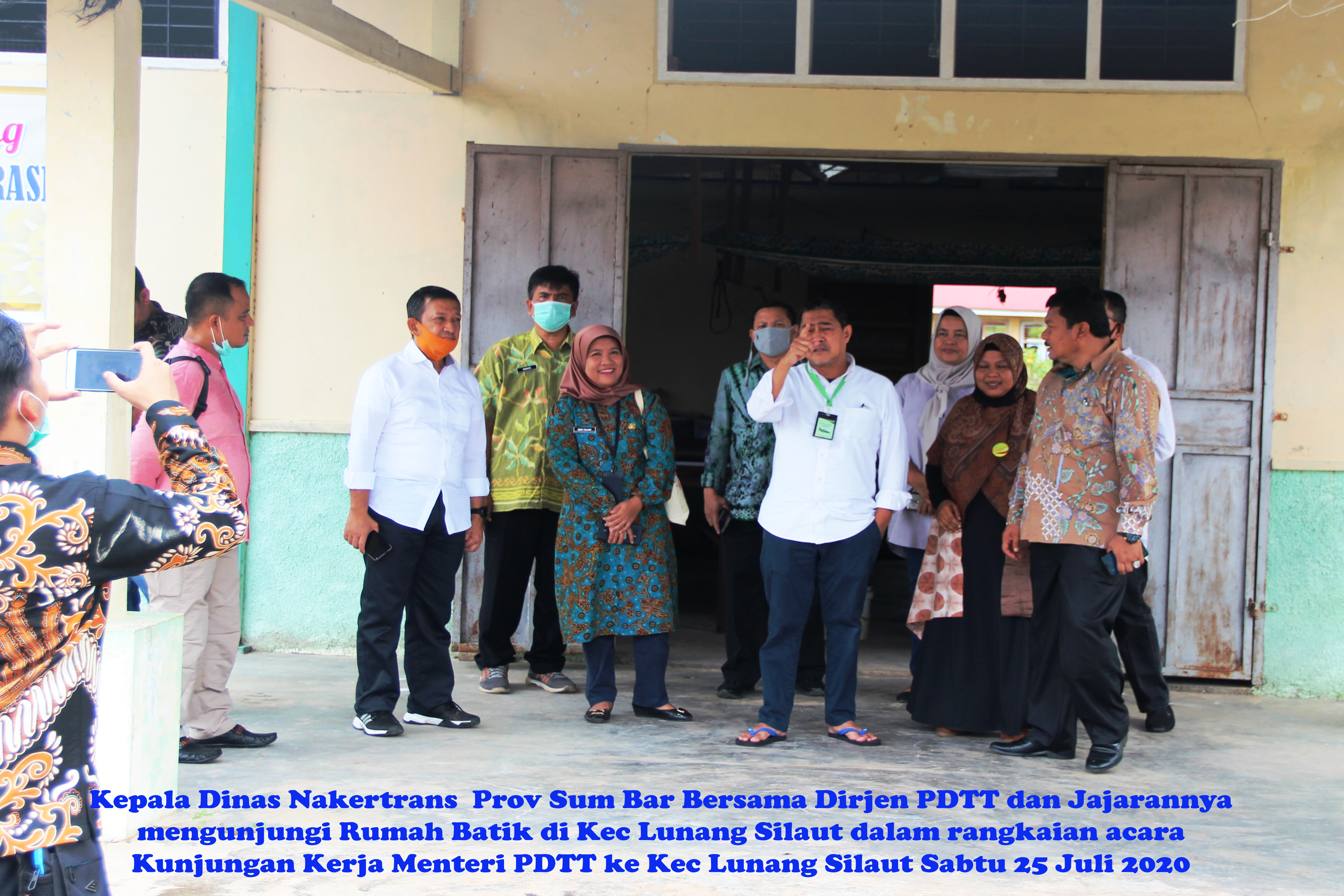 KPB Lunang Silaut, Kab. Pes. Selatan, Prov Sumbar, 25 Juli 2020